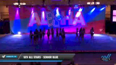 SCV All Stars - Senior Blue [2021 L3 Senior - Small Day 2] 2021 Aloha DI & DII Championships