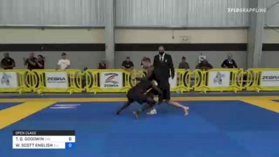 TIMOTHY Q. GOODWIN vs WILLIAM SCOTT ENGLISH 2021 Pan IBJJF Jiu-Jitsu No-Gi Championship