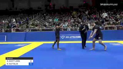 DANTE SCOTT LEON vs REHAN MUTTALIB 2021 World IBJJF Jiu-Jitsu No-Gi Championship