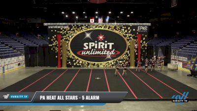 PA Heat All Stars - 5 Alarm [2021 L6 Senior - XSmall] 2021 PA Championship