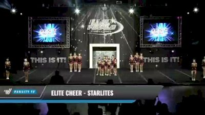 Elite Cheer - Starlites [2021 L3 Youth Day 1] 2021 The U.S. Finals: Kansas City