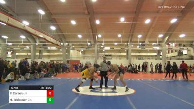 Quarterfinal - Paul Carson, Appalachian State vs Hunter Tobiasson, Queens University Of Charlotte