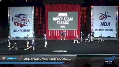 - Alliance Cheer Elite COALITION [2019 Youth 1 Day 1] 2019 NCA North Texas Classic