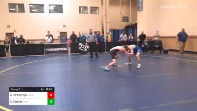 106 lbs Consolation - Ky Szewczyk, Waynesburg vs Clayton Foster, Central Mountain