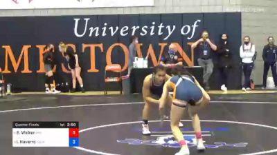 101 lbs Quarterfinal - Esther Walker, Midland vs Ivy Navarro, Providence