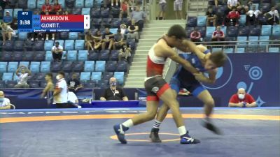 55 kg 1/4 Final - Navzod Akhmedov, Uzbekistan vs Tamazi Glonti, Georgia