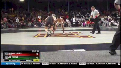 157 lbs Consi Of 4 - Ke-Shawn Hayes, Ohio State vs Kaleb Young, Iowa