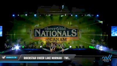 Rockstar Cheer - Lake Norman - Twisted Sister [2021 L3 Junior - Small Day 2] 2021 Cheer Ltd Nationals at CANAM