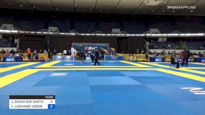 JACKSON SOUSA DOS SANTOS vs FREDERIC LEONHARD VOSGRÖNE 2019 World IBJJF Jiu-Jitsu No-Gi Championship