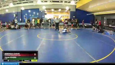 145 lbs Round 3 - Jeremiah Chavis, Hernando Wrestling Club vs Tison Rivers, CLAY