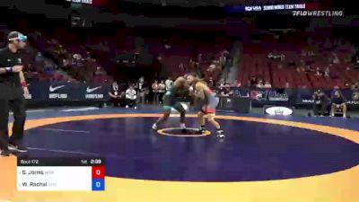 63 kg Semis - Sam Jones, New York Athletic Club vs We Rachal, Illinois Regional Training Center/Illini WC