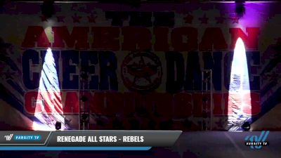 Renegade Allstars - Rebels [2021 L1 Youth - D2 - Small Day 2] 2021 The American Celebration DI & DII