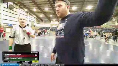 63 lbs Round 3 - 3Paxton Beckett, NWWC vs 2Preston Beckett, NWWC