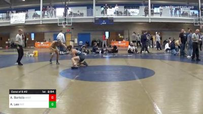 Consolation - Anthony Bartolo, West Virginia Unattached vs Austin Lee, Pittsburgh-Johnstown Unattached