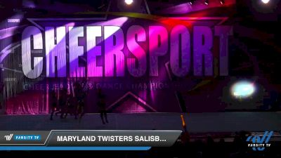Maryland Twisters Salisbury - Supercells [2020 Senior Small 2 Division B Day 2] 2020 CHEERSPORT National Cheerleading Championship