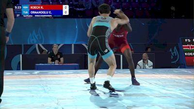 61 kg Qualif. - Kenneth Koech, Kenya vs Emrah Ormanoglu, Turkey
