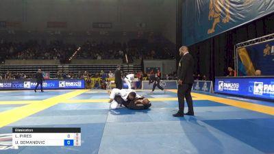 LEONARDO PIRES NOGUEIRA vs UROS DOMANOVIC 2019 Pan Jiu-Jitsu IBJJF Championship