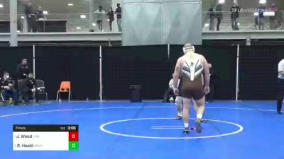 285 lbs Final - Jordan Wood, Lehigh vs Robert Heald, Army West Point