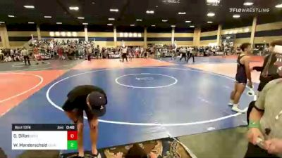 126 lbs Consi Of 32 #2 - Troy Kinlicheenie, Painted Desert WC vs Caidan Cole, Grindhouse WC
