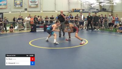 55 kg Round Of 64 - Nicco Ruiz, Sunkist Kids Monster Garage vs Robert Howard, TMWC/Bitetto Trained