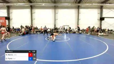 57 kg Prelims - Nino Morici, Lost Boys Wrestling Club vs Cooper Flynn, Team Shutt