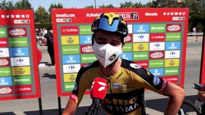 Vuelta a España: Kuss Promises No Roglic Attacks -- For Now