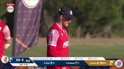 Replay: England XI vs Netherlands XI | Oct 7 @ 9 AM