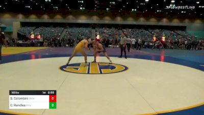165 lbs Prelims - Beau Colombini, Fresno State vs Casey Randles, Wyoming
