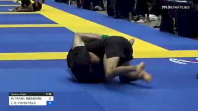 Lee Rosenfield Hits A Mean High-Elbow Guillotine