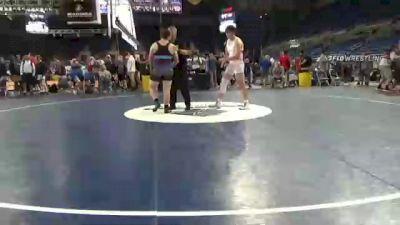 220 lbs Consi Of 32 #2 - Gentry Bowles, Utah vs Jordan Williams, Utah