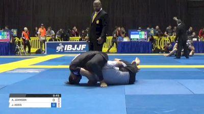 AARON JOHNSON vs JOAO ASSIS World IBJJF Jiu-Jitsu No-Gi Championships