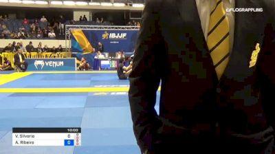 Victor Silverio vs Athos Ribeiro 2018 World IBJJF Jiu-Jitsu No-Gi Championship