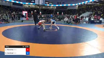 61 kg Consolation - Jaxon Maroney, Pennsylvania RTC vs Derrick Cardinal, Forest Lake Wrestling Club