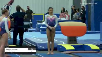 Madray Johnson - Vault, WOGA Gymnastics - 2021 American Classic and Hopes Classic