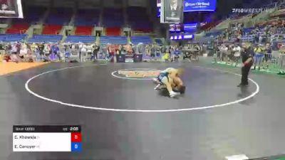 170 lbs Semifinal - Codei Khawaja, Indiana vs Evan Canoyer, Nebraska
