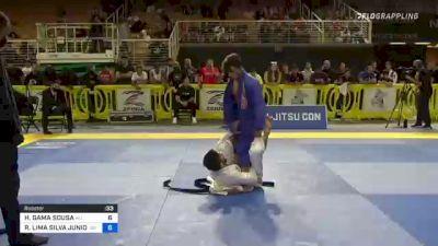 Hiago Gama Smooth Wrestle-Up Sweep