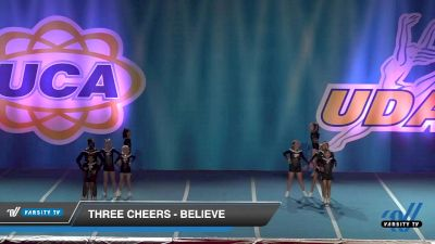 - Three Cheers - Believe [2019 Youth 2 Day 2] 2019 UCA and UDA Mile High Championship