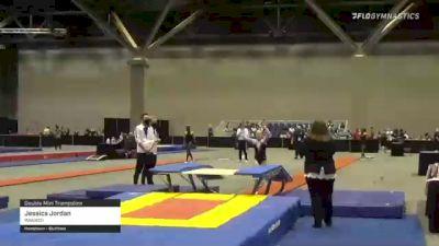 Jessica Jordan - Double Mini Trampoline, Wasatch - 2021 USA Gymnastics Championships