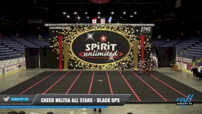 Cheer Militia All Stars - Black Ops [2021 L3 Senior Coed] 2021 PA Championship
