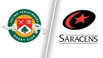 Full Replay: Ealing Trailfinders vs Saracens - Jun 13
