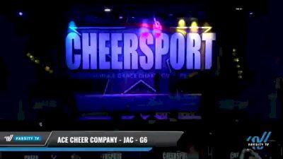 ACE Cheer Company - JAC - G6 [2021 L6 Senior Coed - Medium Day 1] 2021 CHEERSPORT National Cheerleading Championship