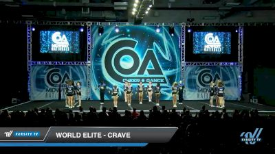 World Elite - Crave [2020 L6 Senior Coed Open - Small Day 2] 2020 COA: Midwest National Championship