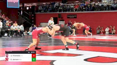 285 lbs Prelims - Jake Kleimola, Indiana vs David Jensen, Nebraska