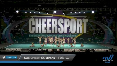 ACE Cheer Company - TUS - Golden Spears [2020 Youth Small 2 Division B Day 1] 2020 CHEERSPORT National Cheerleading Championship