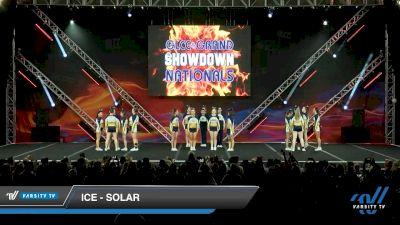 ICE - Solar [2020 L6 International Open - NT - Coed Day 1] 2020 GLCC: The Showdown Grand Nationals