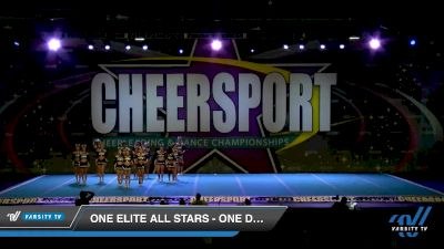One Elite All Stars - One Desire [2020 Senior Small 3 D2 Division A Day 1] 2020 CHEERSPORT National Cheerleading Championship