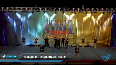 Tualatin Cheer All-Stars - Tualatin Cheer All-Stars [2021 L4.2 Senior Coed - D2 Day 2] 2021 The STATE DI & DII Championships