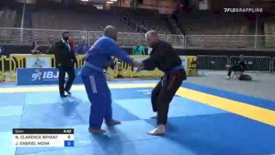 NATHANIEL CLARENCE BRYANT vs JOHN GABRIEL MONK 2021 Pan Jiu-Jitsu IBJJF Championship