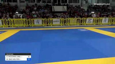 GABRIELLE MCCOMB LIMA vs MY BAO NGUYEN 2021 Pan IBJJF Jiu-Jitsu No-Gi Championship