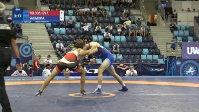 60 kg Repechage #2 - Azizbek Yoldoshev, Uzbekistan vs Abdula Salimov, Russia